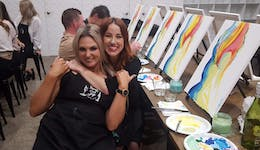 Image of the event 'Paint and Sip Experience'