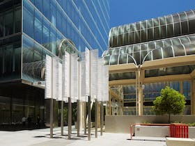 Feather Arbour by Ned Kahn, Perth, Western Australia