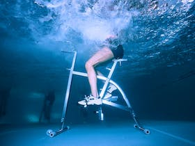 Water Cycling (cycling underwater)
