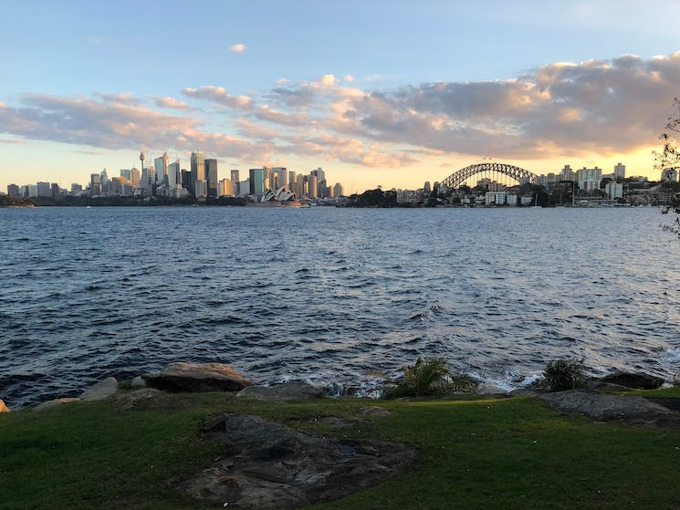 Beautiful view looking back from Cremorne Point - just over half way on the Bondi to Manly Walk