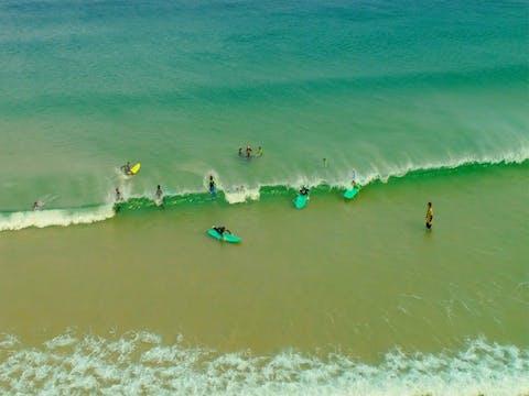 Land's Edge Foundation Surf School South Coast Gerroa 7 Mile Beach