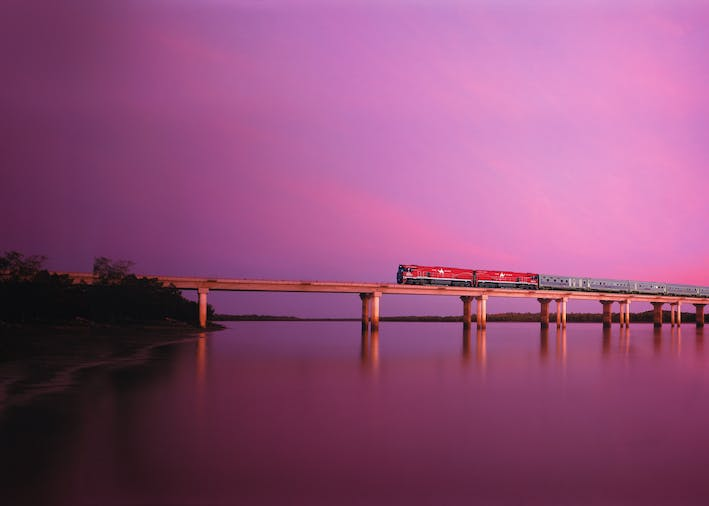 The Ghan  Adelaide to Darwin