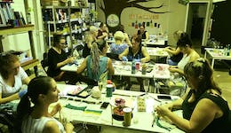 Image of the event 'Resin Pouring Workshop at The Seed Creative Workshops'