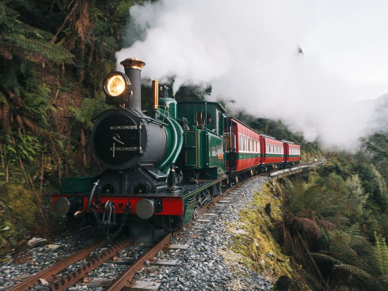 West Coast Wilderness Railway - Strahan Departures