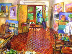 Exhibition of Paintings by Brian Seidel