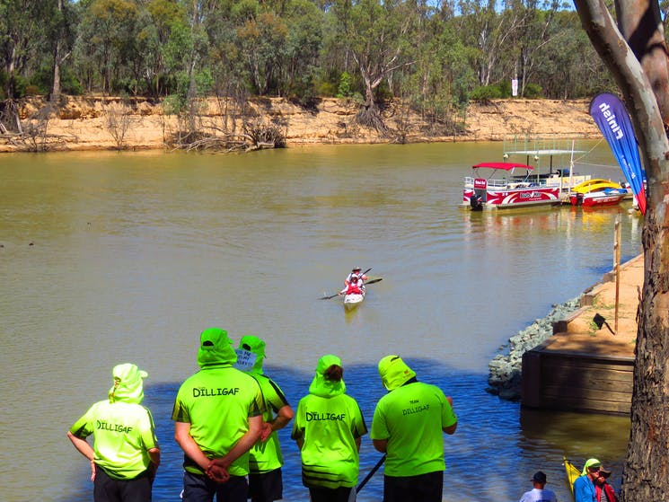 The Day Three finish at Echuca