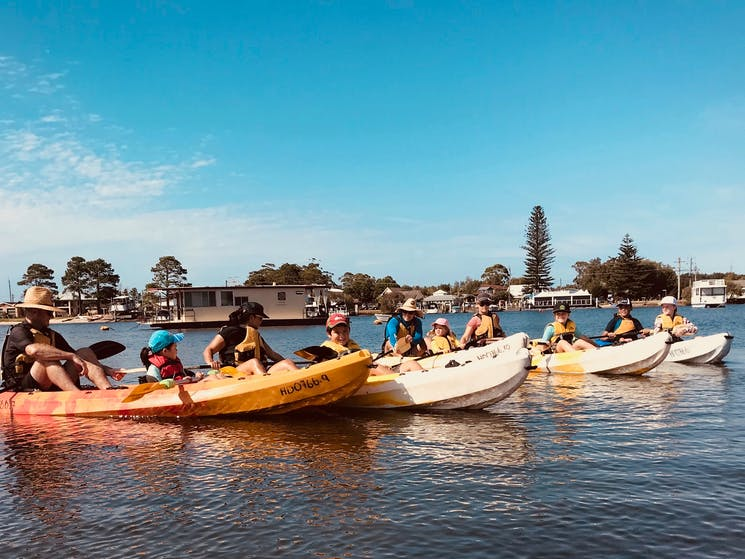 Myall River discovery tour