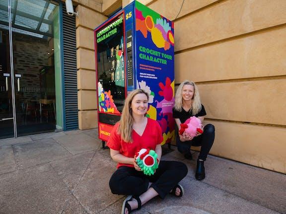 Art Vending Machines Australia (AVMA) presents 'the Adelaide Art Vending Machine' at AGSA