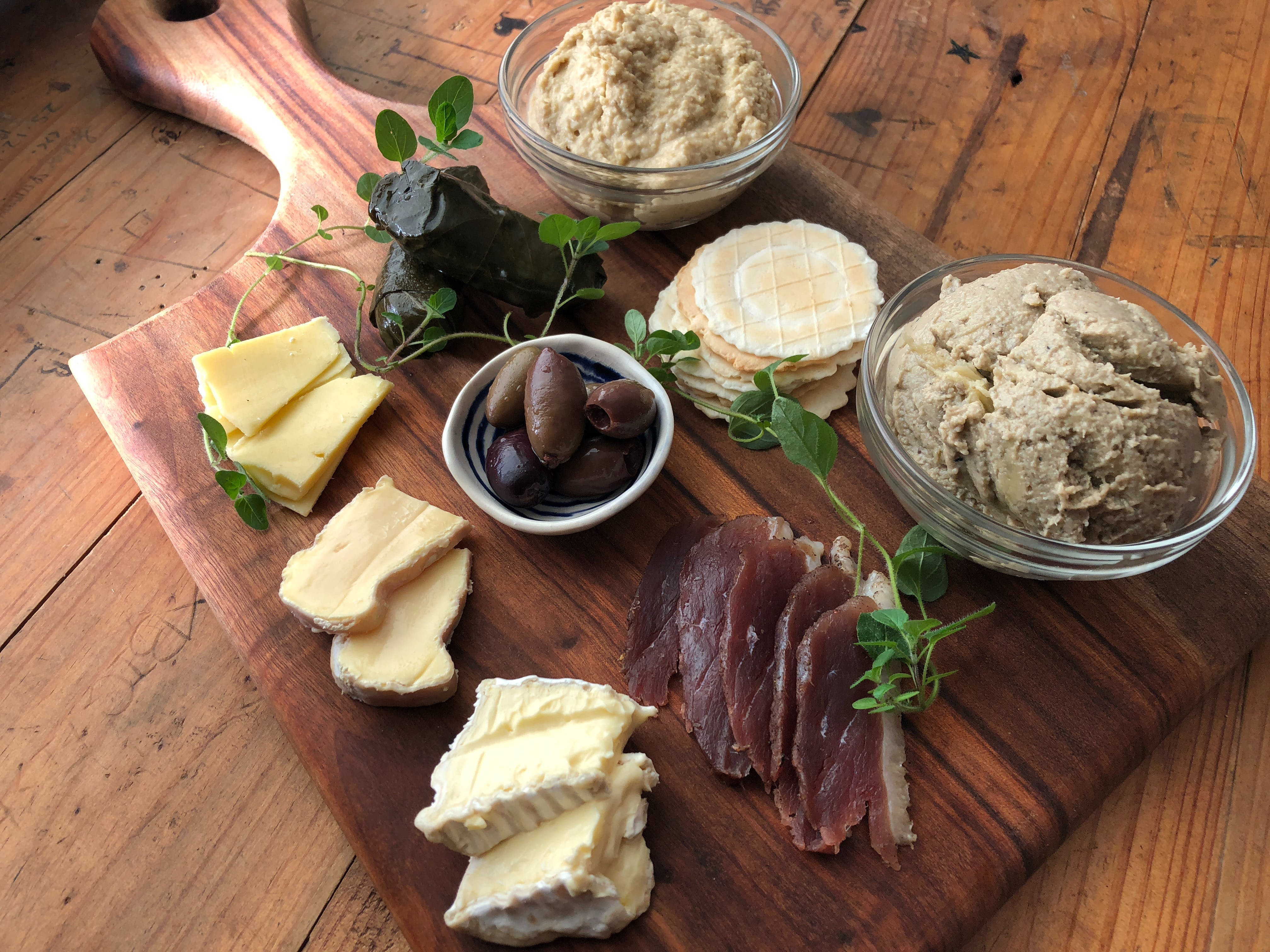 Plenty of choices for grazing platters