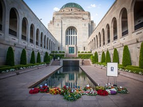 Last Post Ceremony at the Australian War Memorial