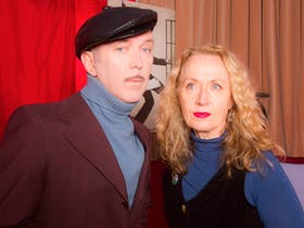 Dave Graney and Clare Moore plus Georgio The Dove Valentino and Patrizia F. (USA)