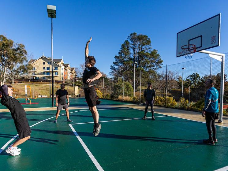 Basketball Court at Fairmont Resort & Spa Blue Mountains