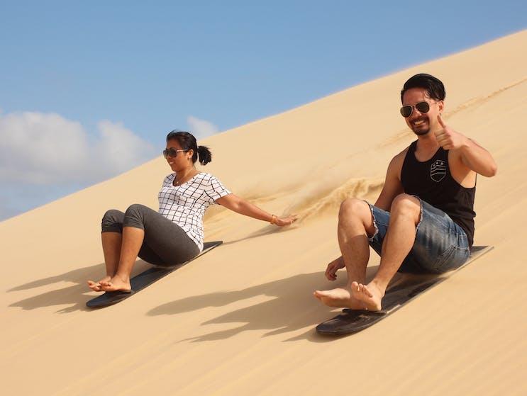 Sand Boarding fun for everyone