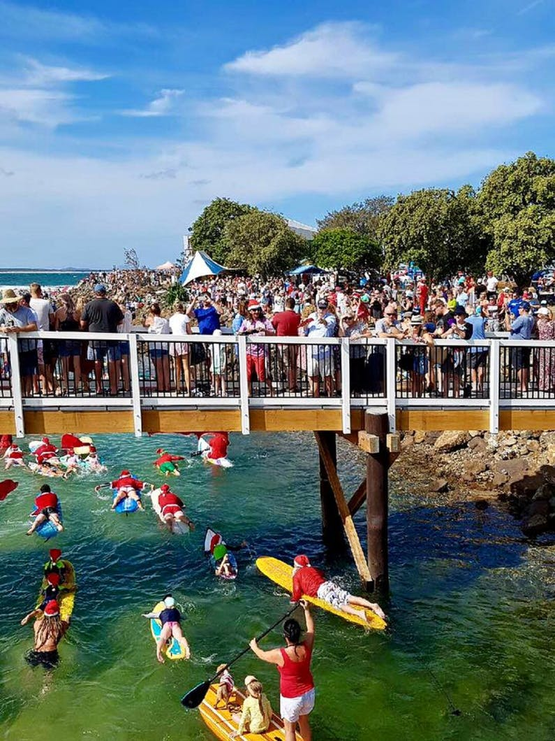 Image of the event 'The Crescent Head Santa Surf'