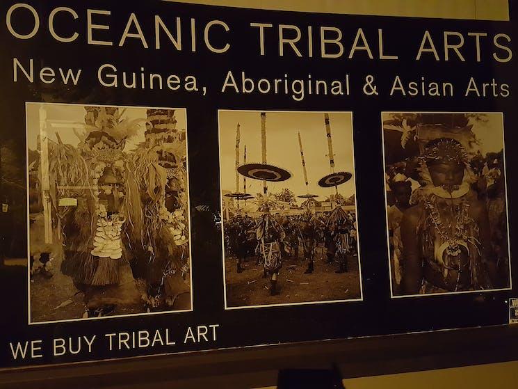 Oceanic Arts Australia Gallery