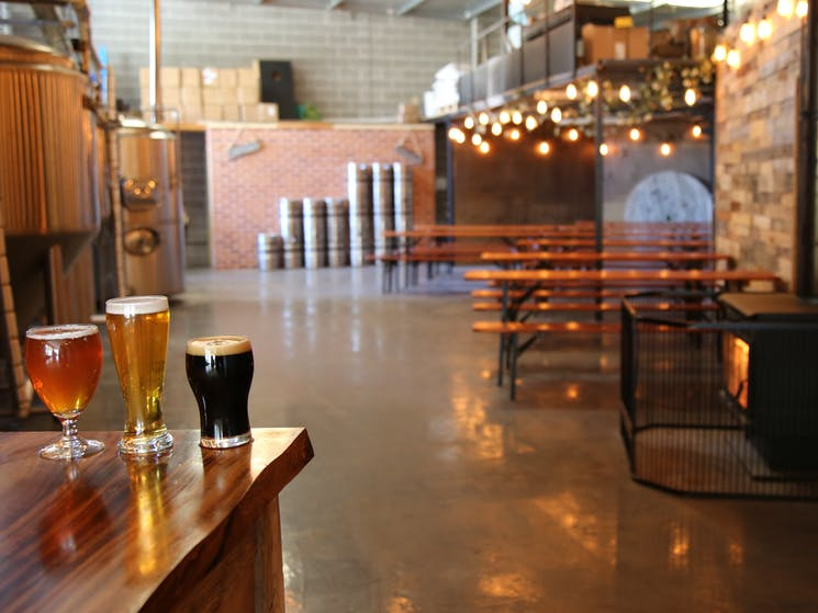 Eden Brewery Seating
