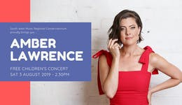 Image of the event 'Free Children's Concert featuring Amber Lawrence'