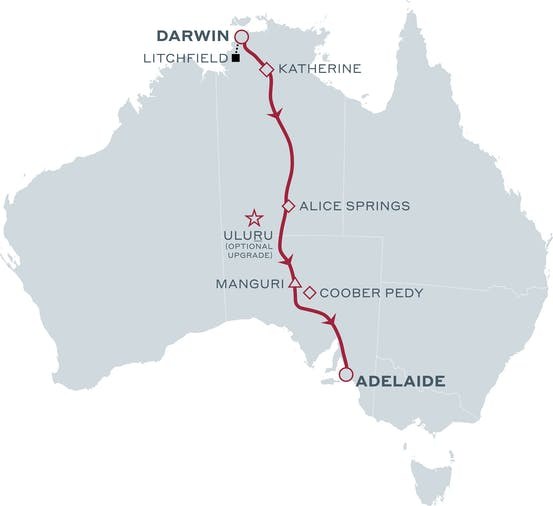 Taste of the Top End   The Ghan Expedition Signature Package