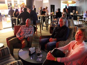 Meet with friends at the Yamba Bowlo