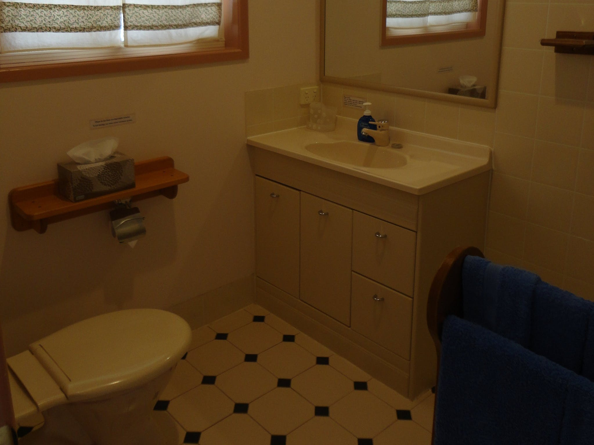 Moden and clean bathroom in each room