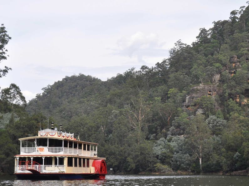Image of the event 'Nepean Gorge Discovery Cruise'