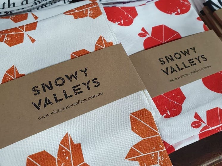 Local products, from the Snowy Valleys and surrounds, at Local at Learmonts, Tumut, NSW