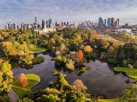 Royal Botanic Gardens Victoria, Melbourne Gardens