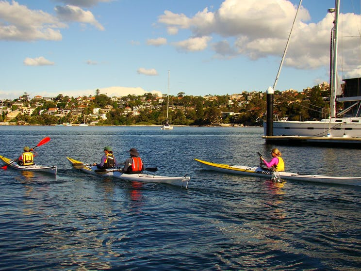 Sea Kayak hire with your friends