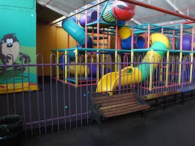 Multistory playground for younger children, they can run their imaginations wild