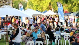 Image of the event 'QEII Twilight Markets'