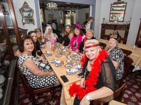 Bygone Beautys' Traditional High Tea Supreme for Good Food Month