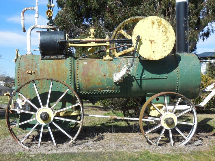 District museum tractor