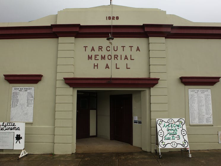 Tarcutta Soldiers Memorial Hall