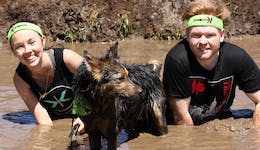 Image of the event 'K-9 Ruff Mudder'