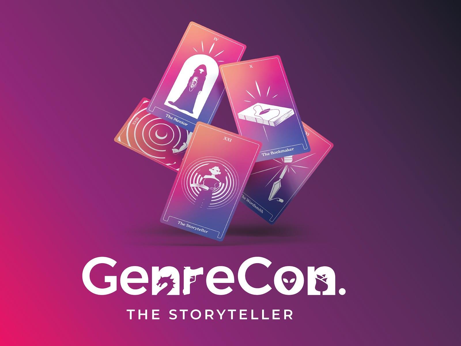 Image for GenreCon 2022: The Storyteller