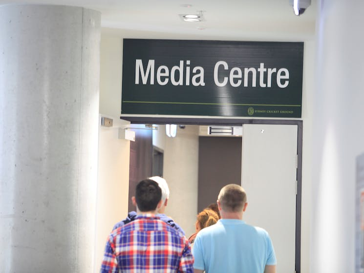 SGG Guided Walking Tour in SCG Media Centre