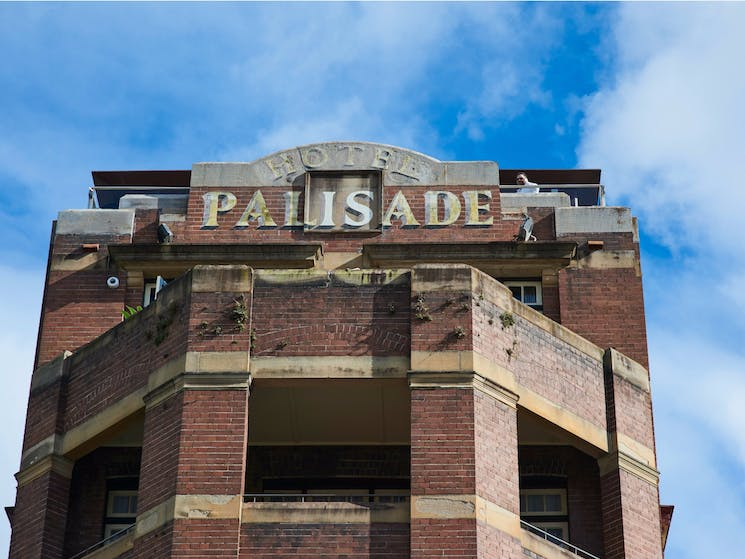 Exterior of Hotel Palisade, Millers Point