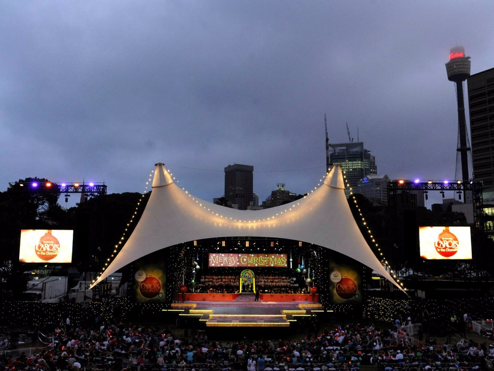Image for Woolworths Carols in the Domain