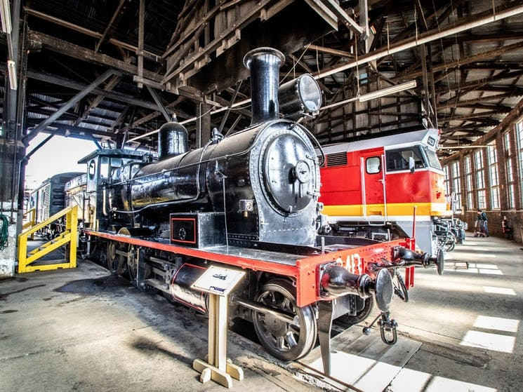 Roundhouse Museum Trains