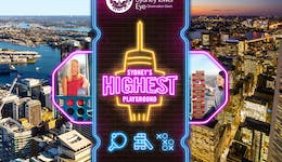 Image of the event 'Sydney's Highest Playground at Sydney Tower Eye'