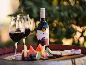 Hidden Creek Winery Cafe Vineyard