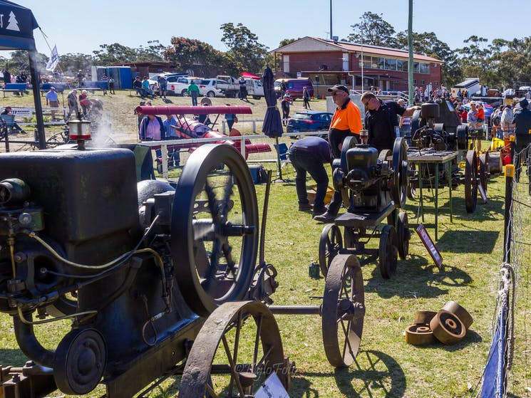 Tractors and Stationary Engines