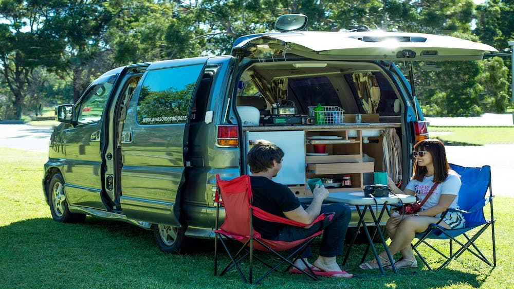 Awesome Van and Camper Hire - Townsville