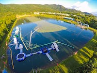Cairns Aqua Park and Wake Park in Tropical North Queensland