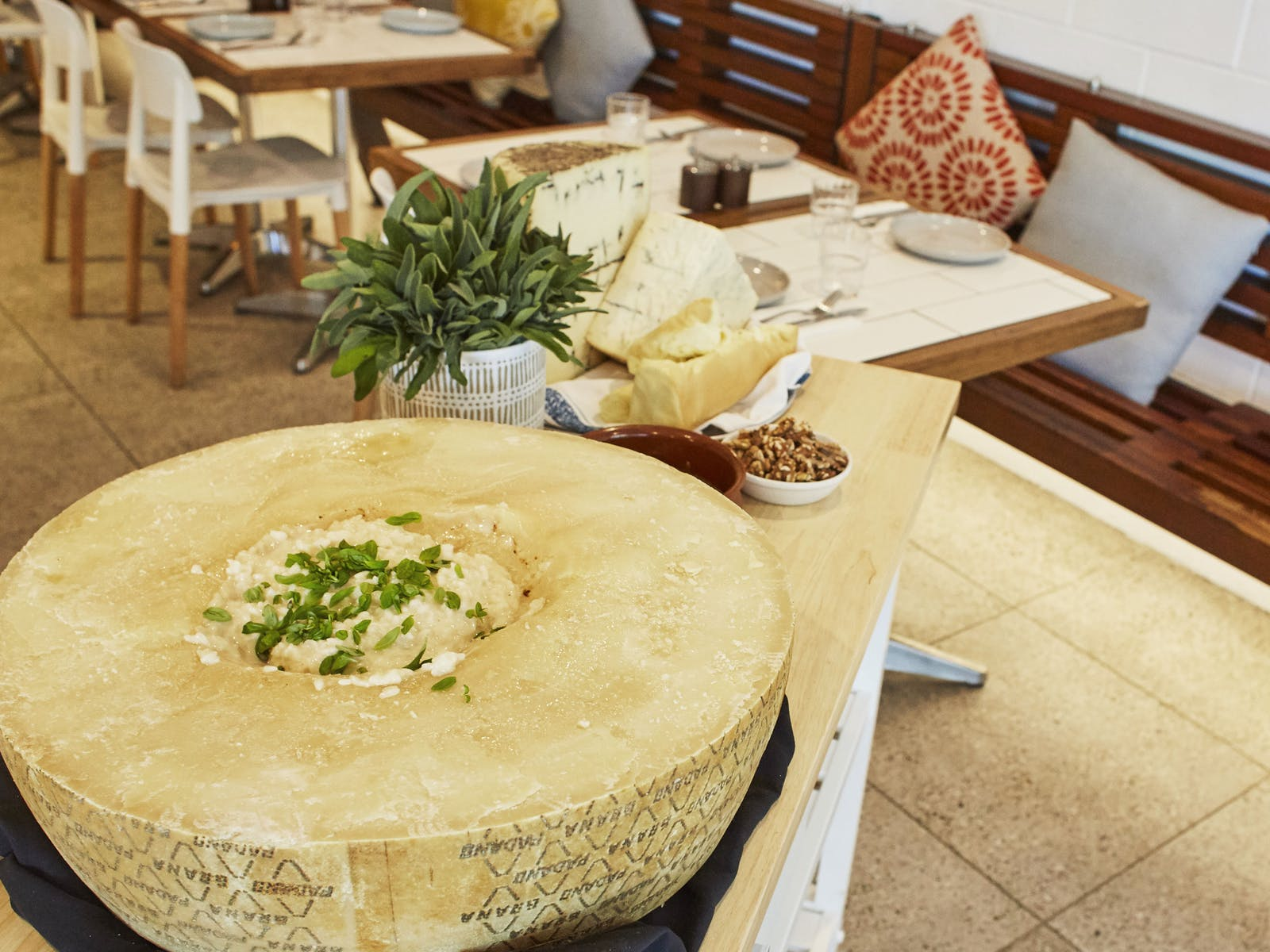 Image for Flaming Cheese Wheel and Wine Experience: Dee Why