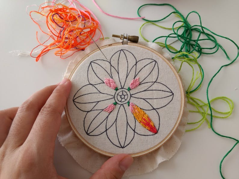 Image of the event 'Hand Embroidery the Basics and Beyond!'