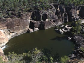 Macintyre Falls lookout