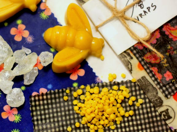Online live streaming class: Make Your Own Beeswax Wraps