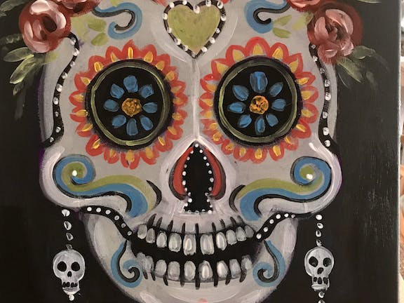 Paint and Sip Class: Sugar Skull