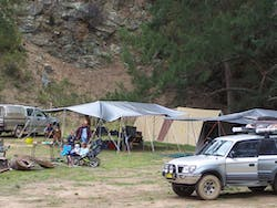 Silent Creek campground, Abercrombie River National Park. Photo: NSW Government